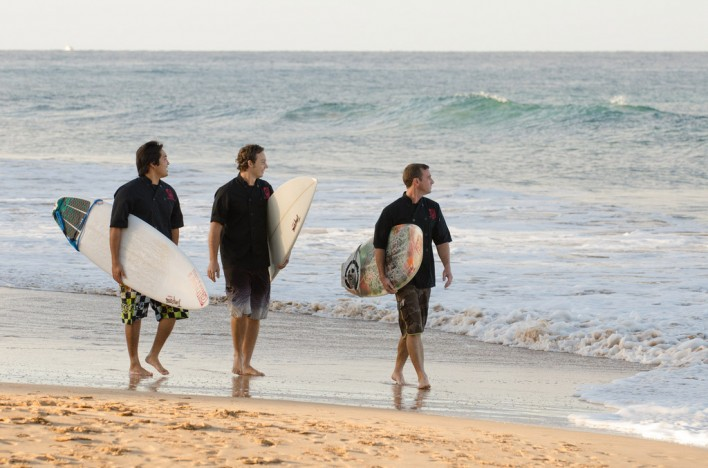 Three Surfing Chefs on Maui