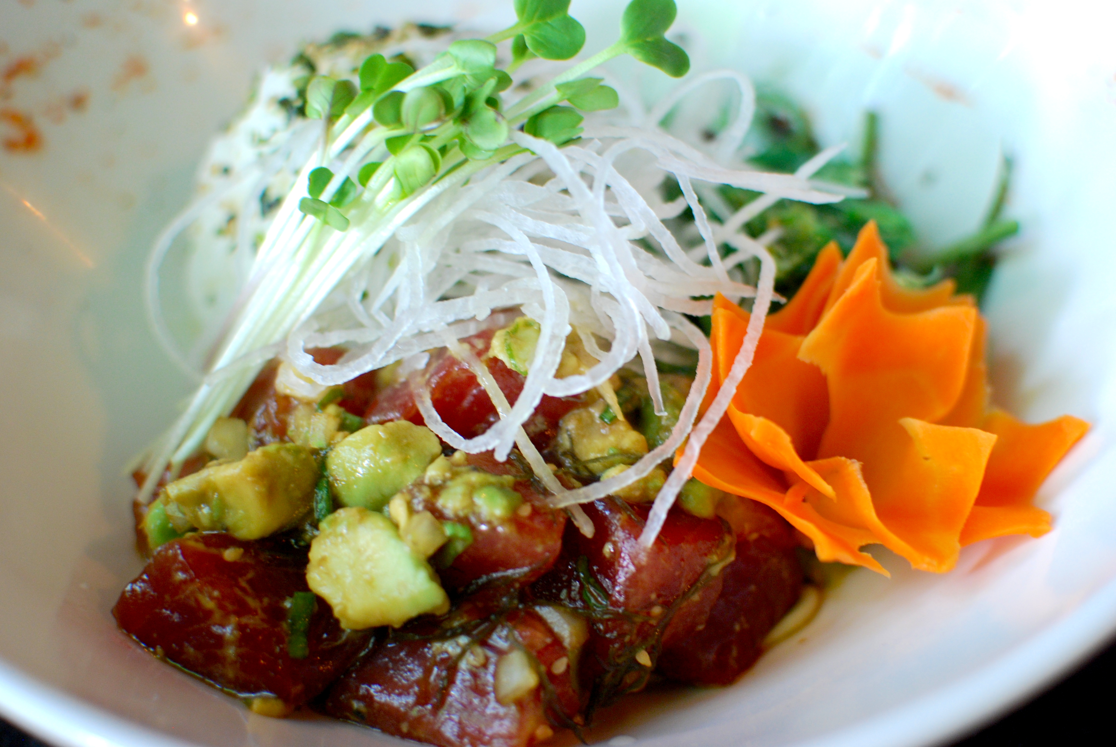 Recipe of the month three s traditional hawaiian poke for Authentic hawaiian cuisine