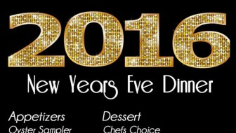 New Years Eve Dinner at Three's