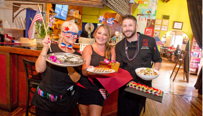 "Three's Bar & Grill wins the ""Best Happy Hour on Maui"" in MauiTime's Best of Maui 2016"