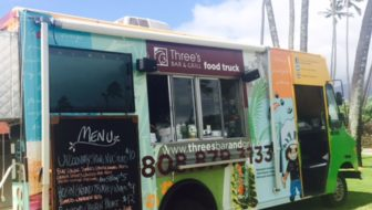 Kīhei 4th Friday Features Three's Food Truck!